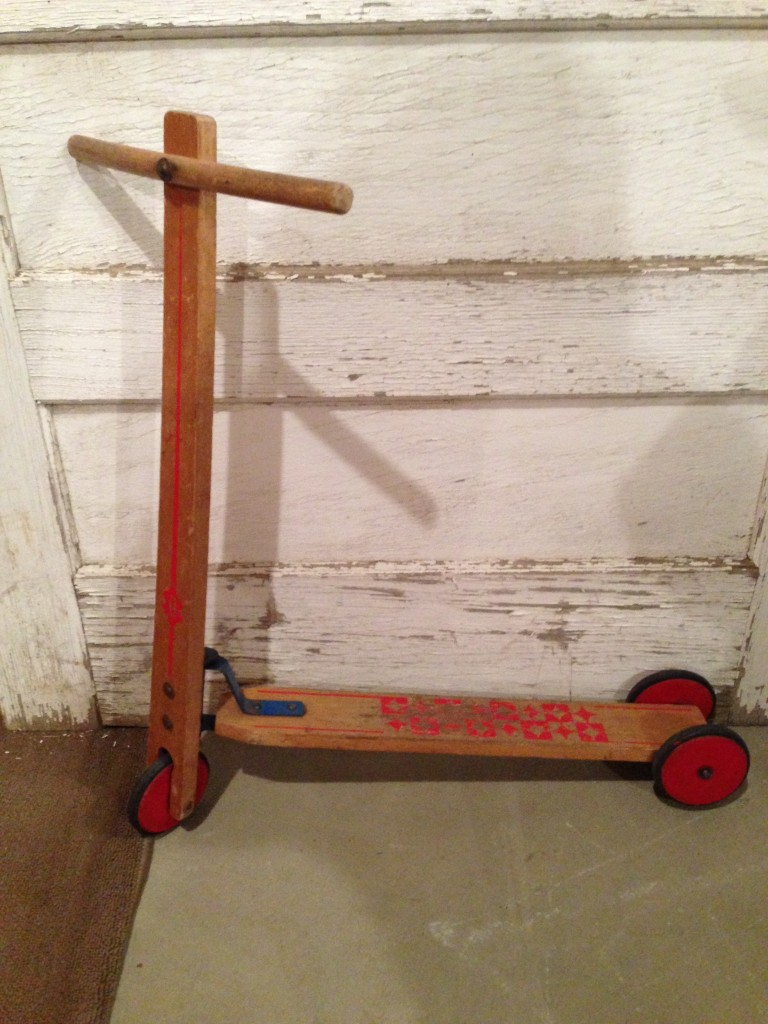 Small Wooden Scooter