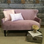 Lilac Settee