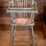 Blue Chippy High Chair