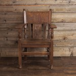 Wooden Throne Chair