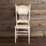 White Farm Chairs