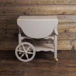 Gray Tea Cart