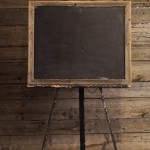 Barn Board Chalk Board