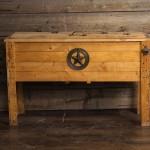 Rustic Wooden Cooler