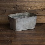 Rectangular Tin Tub