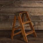 Ladder - Brown 3 Step