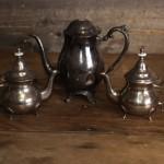 Assorted Silver Tea Sets